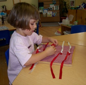 Montessori tools - observation
